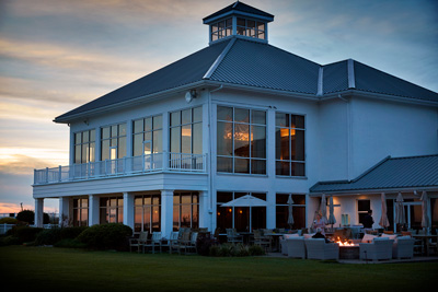 Rehoboth Beach Clubhouse sunset